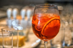 Aperol Spritz royalty free stock photos