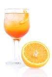 Aperol Spritz il cocktail Fotografie Stock Libere da Diritti