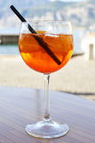 Aperol Spritz Royalty Free Stock Photography