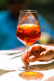 Aperol Spritz, Veneziano Stock Photo