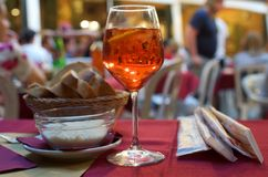 Aperol in Venice Stock Photography