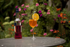 Cooling Aperitivo and spritzer Stock Image