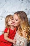 Aperto da matriz e da filha foto de stock royalty free