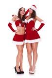 Aperto das mulheres de Santa amigável Foto de Stock Royalty Free