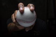 Aperto de Fastballl do basebol Foto de Stock