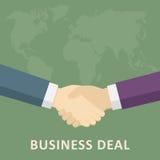 Aperto de mão do negócio de negócio Foto de Stock Royalty Free