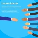 Aperto de mão um Person Choose Partners Business Fotografia de Stock Royalty Free