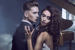 Aperto 'sexy' dos pares fotos de stock royalty free