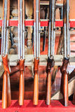 Apertos de pistola fotografia de stock royalty free