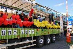 Apertura 2012 dell'euro Fotografia Stock Libera da Diritti