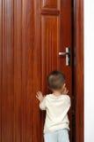 Apertura de la puerta Fotografía de archivo libre de regalías