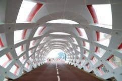 Apertura del ponte Fotografie Stock