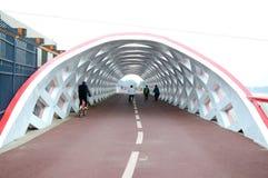Apertura del ponte Immagini Stock
