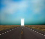 Apertura dell'indicatore luminoso Fotografia Stock Libera da Diritti