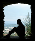 Apertura della finestra Fotografia Stock Libera da Diritti