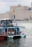 Apertura di stagione di navigazione a Mosca Immagine Stock