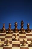 Apertura di un gioco di scacchi Fotografie Stock Libere da Diritti