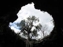 Apertura en el cielo en Yucatán México fotografía de archivo libre de regalías