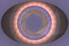 Apertura w oko symbolu zdjęcia royalty free