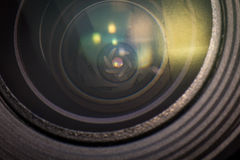 Aperture Blades Camera Lens Royalty Free Stock Photography