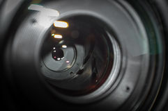 Aperture Blades Camera Lens Stock Image