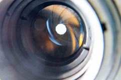 Aperture blades Royalty Free Stock Photos