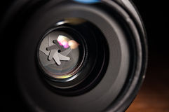 Aperture closeup Stock Image
