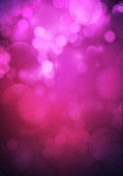 Aperture fuzzy pink purple romantic background Stock Photos