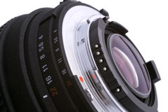 Aperture scale Royalty Free Stock Photo