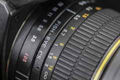 aperture scale Stock Photography