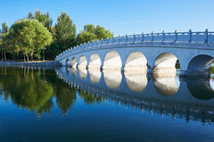 The apertures of bridge Royalty Free Stock Photo