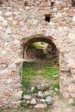 Aperçu dans la ville Mystras Image libre de droits