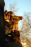 apes sunbathing Στοκ Εικόνες
