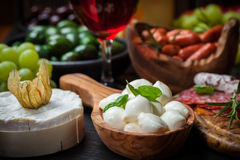 Apetizers and antipasti Stock Photography