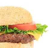 Apetizing hamburger. Stock Image