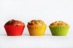 Apetyczni słodcy muffins Fotografia Stock