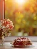 Apetyczny słodki deser obraz stock