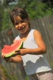 apetyta owocowej dziewczyny zdrowy portret Obrazy Stock