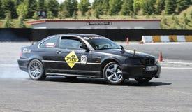 Apex Masters Turkish Drift Series Istanbul Race Royalty Free Stock Image