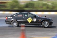 Apex Masters Turkish Drift Series Istanbul Race Royalty Free Stock Photos