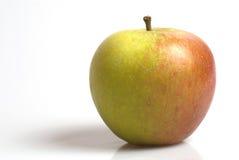 Apfel auf einem weißen backgound Stockfotos