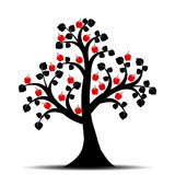 Apfelbaum stock abbildung