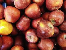 Apfelbeschaffenheit Stockfotos