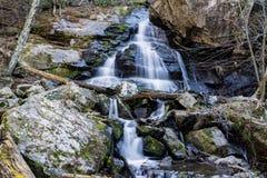 Apfelgarten-Wasserfälle stockbilder