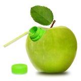 Apfelgrün Stockfoto