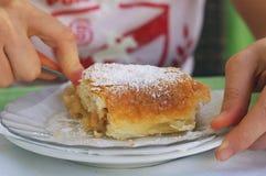 Apfelkuchen Stockfoto