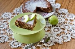 Apfelkuchen mit Zimt Lizenzfreies Stockbild