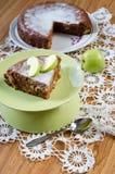 Apfelkuchen mit Zimt Lizenzfreies Stockfoto