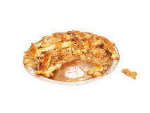 Apfelkuchen selbst gemacht Lizenzfreies Stockbild
