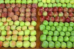 Apfelmarkt Stockfoto